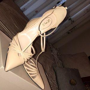 SJP by Sarah Jessica Parker Shoes - SJP nude Carrie heels